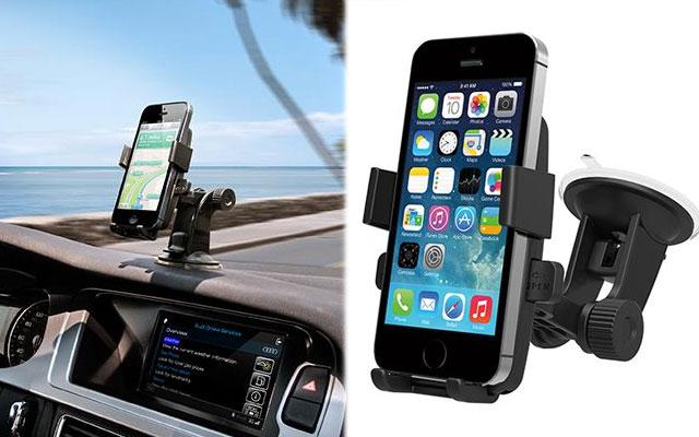 sỉ kẹp điện thoại trên ô tô