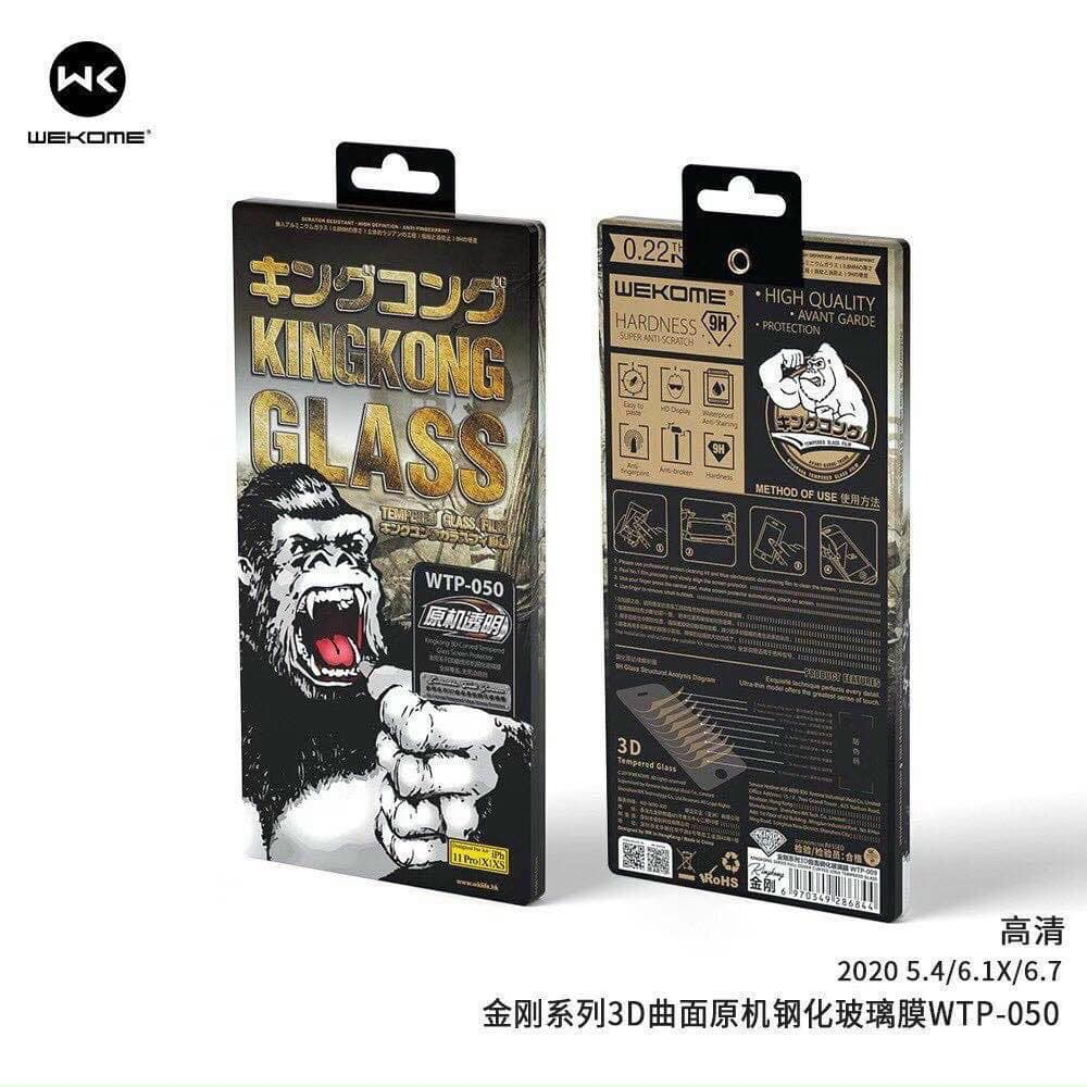 sỉ Kính kingkong iphone 12 - 12mini - 12pro - 12promax chính hãng có hộp sắt